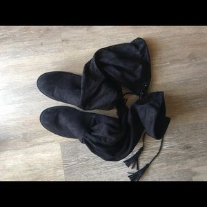 Thalia Sodi Wide Calf Knee High Boots